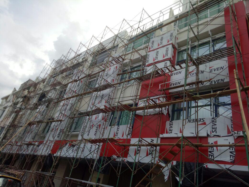 Dinding Aluminium ACP murah di bogor